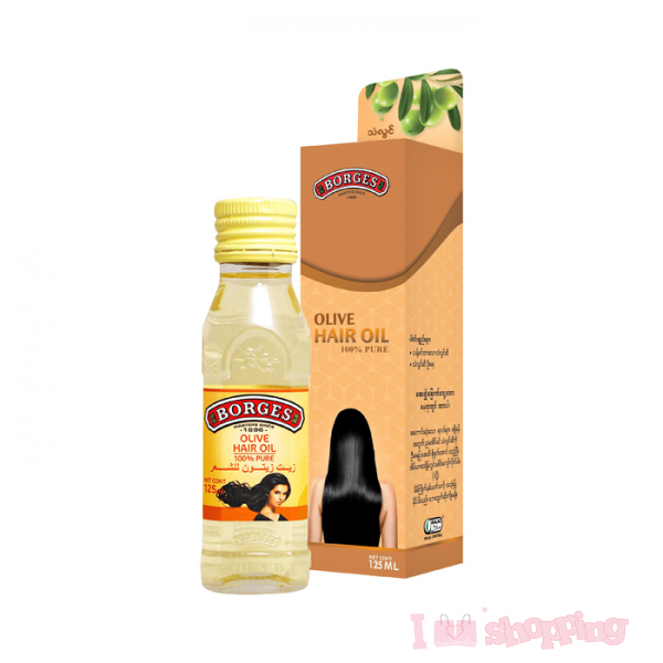 BORGES  Olive Hair Oil 125 ml