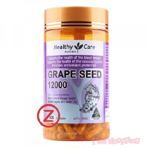 Healthy Care Grape Seed12000 (300 Capsules)