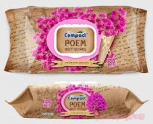 Ultra Compact Wet Tissue Poem Italian