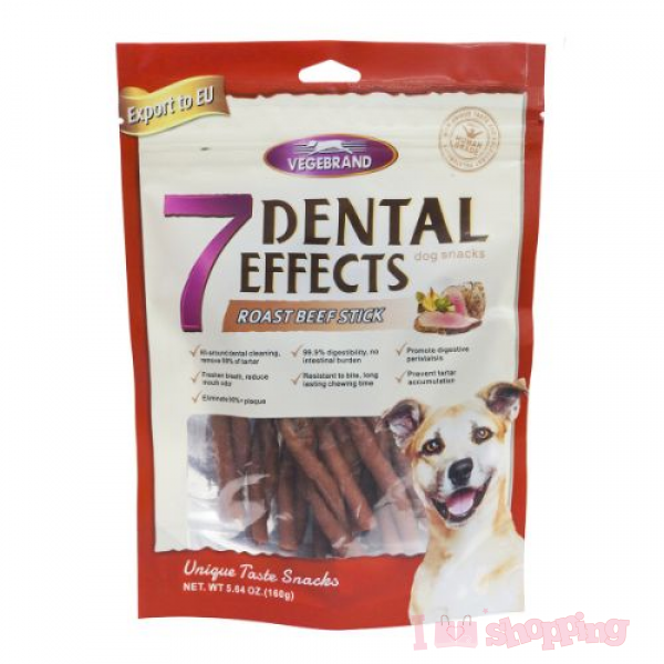 7 Dental Effects Roast Beef Stick 160g