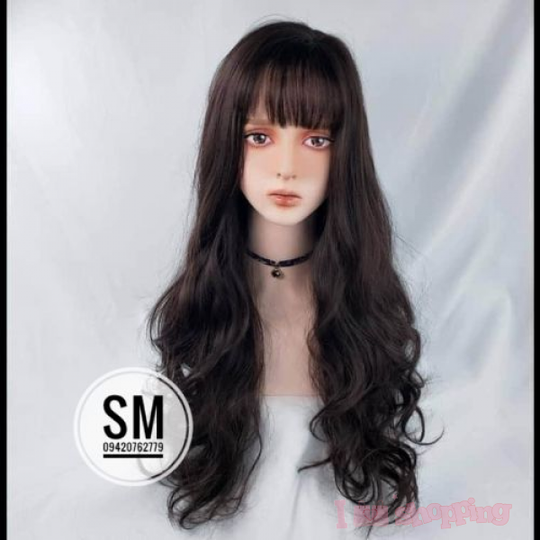 Beautiful Black Colour Wave Design Hair Wig