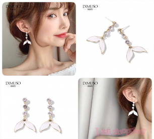 Women Pearl Waterman Fashionable Earring