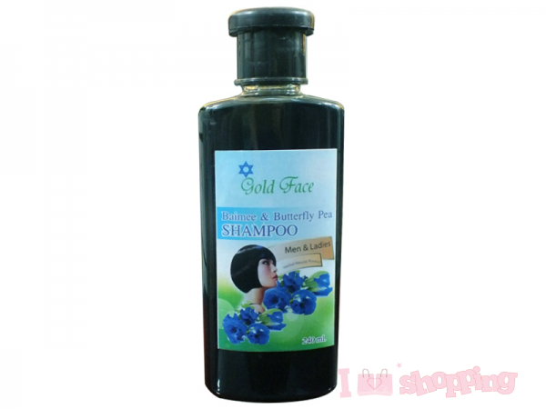 Gold Face Butterfly Pea Shampoo