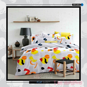 The Gift 5 Pieces Double Flat Sheet