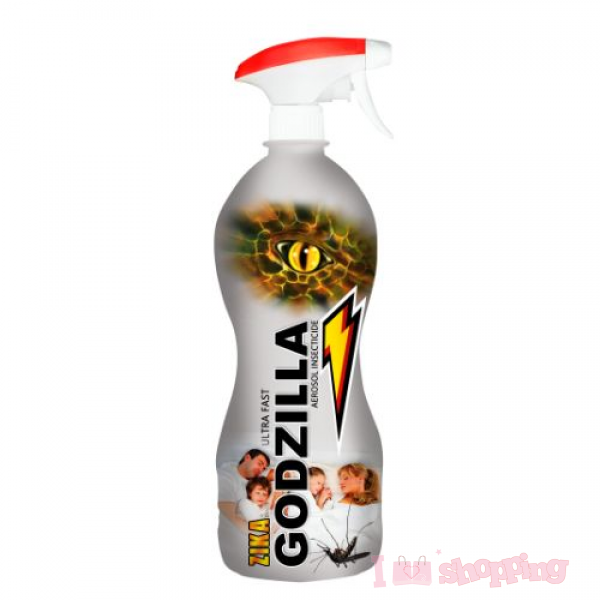 Godzilla Mosquito Spray (1000ml)