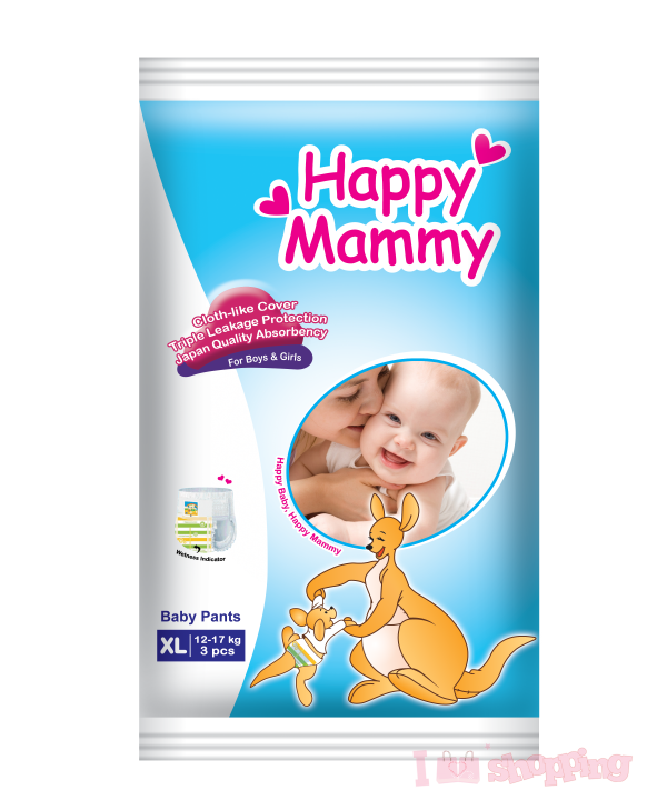 Happy Mammy Original Pant XL(3Pcs)