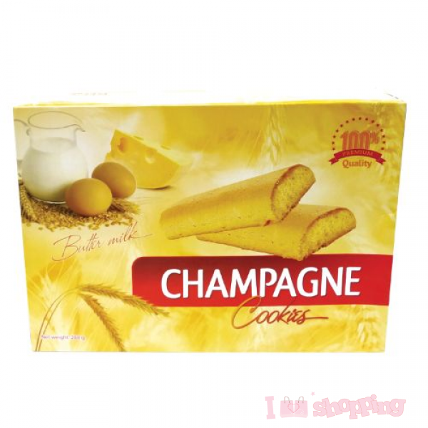 Champagne Cookies (Butter milk) 288g(1 Box )