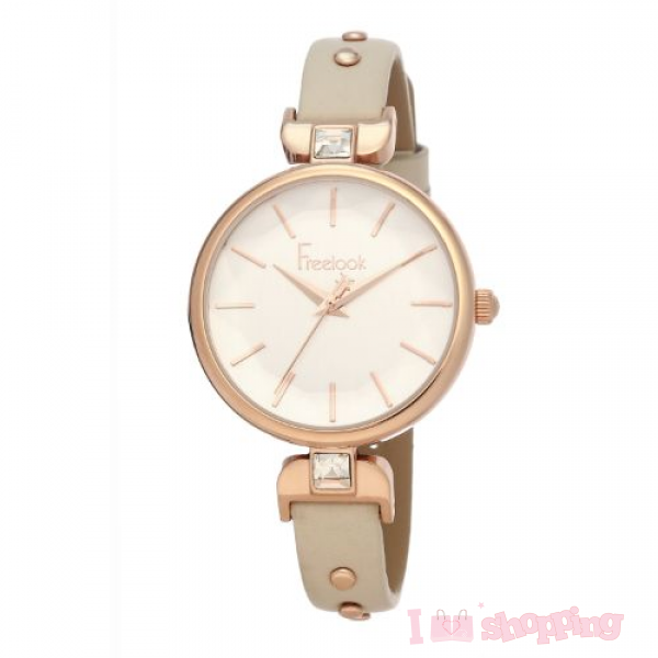 Fashionable Lather Sunlight Color Smart Watch FL.1.10065-4