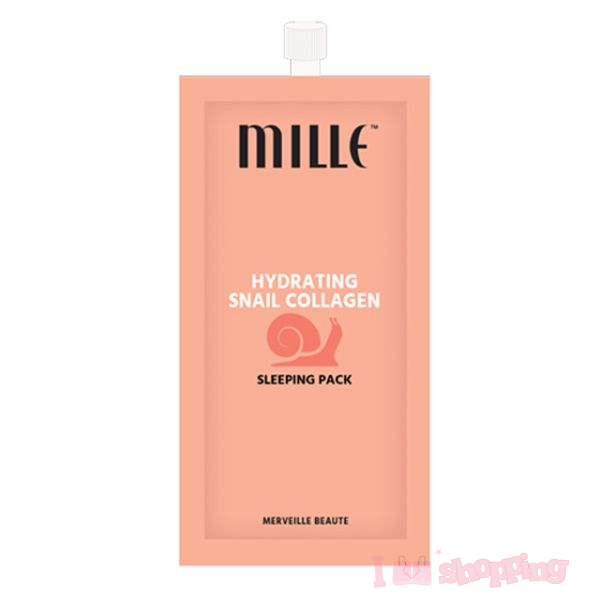 Mille Hydrating Snail Collagen Sleeping Pack