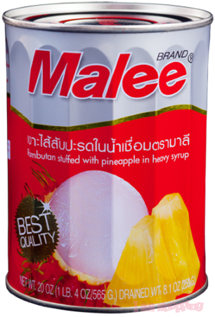 Malee Can Fruit Rambutam With Pineapple