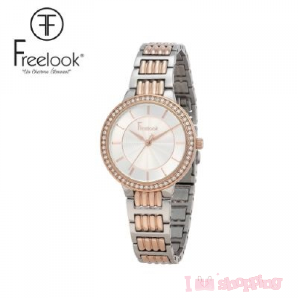 Beautiful Rose Gold & Silver Color Smart Watch FL.1.10112-6