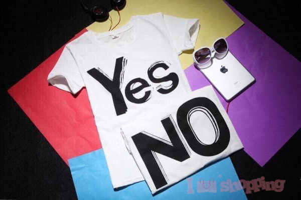 Yes No Couple Shirt