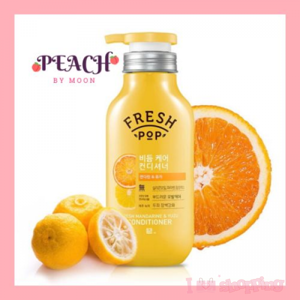 FRESH POP-Fresh Mandarine & Yuzu Conditioner_500ml