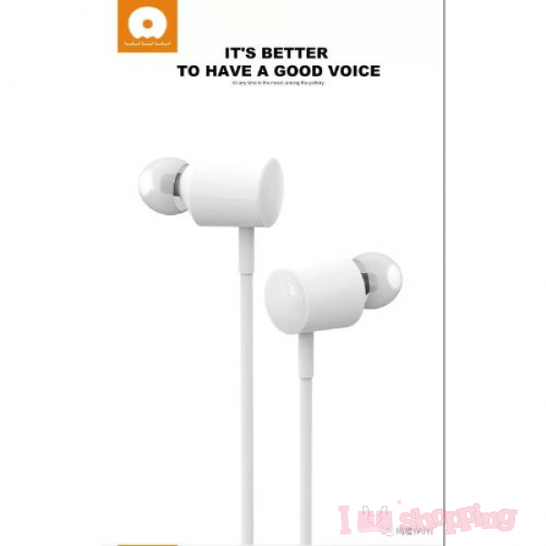 WUW R42 Wired earphones with microphone 3.5mm