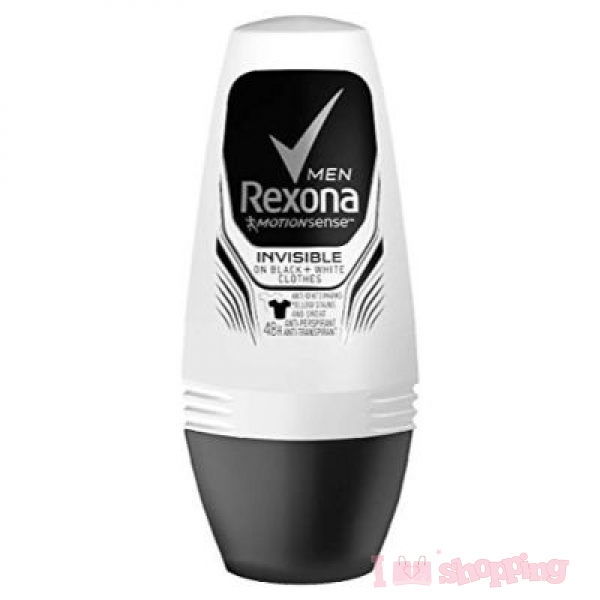 Rexona Invisible Dry on Black and White Clothes 50ml For Men