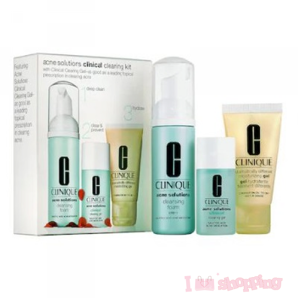 Clinique ance solutions clinical clearing kit set