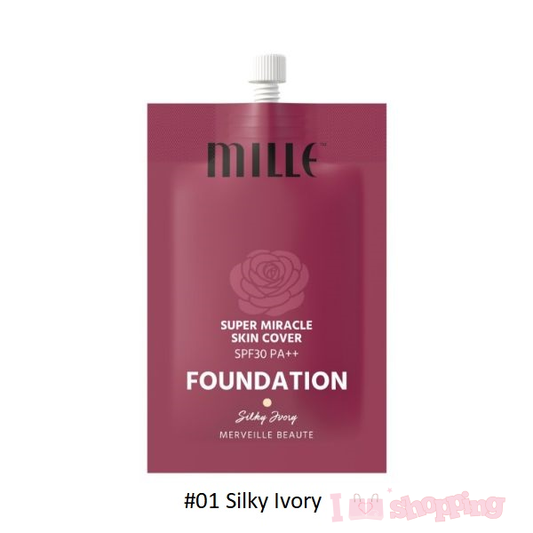 Mille Super Miracle Skin Cover Foundation