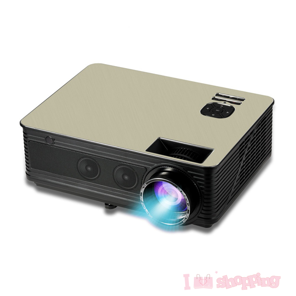 NewestM5 Full HD True 1080p Native LED Home Theater Video Projector