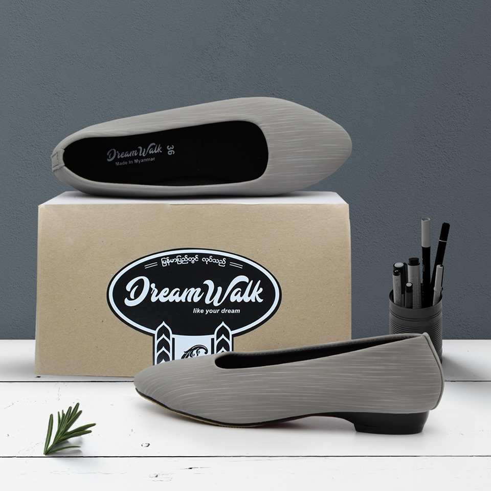 Dream Walk Leather Shoe 1 inch