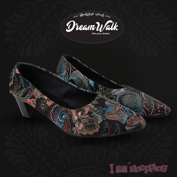 Flower Lady Shoes (2 Inch)