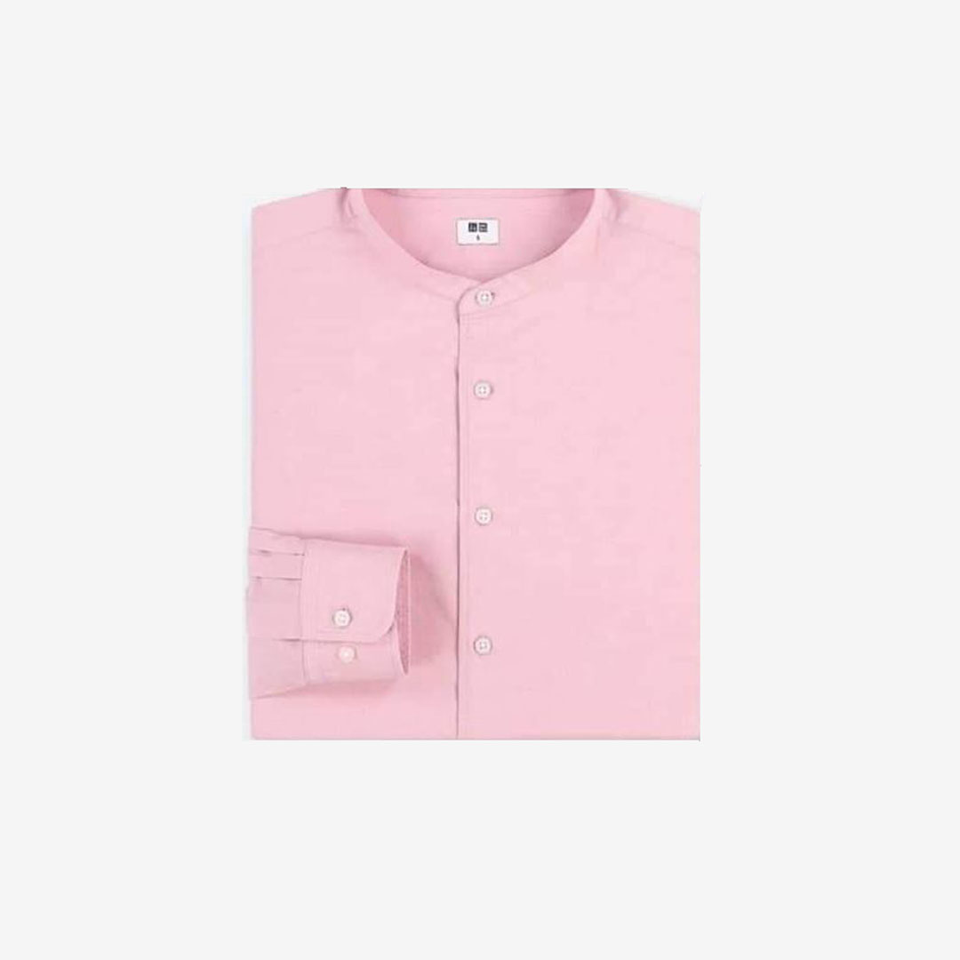 Uniqlo Soft Twill Stand Shirt