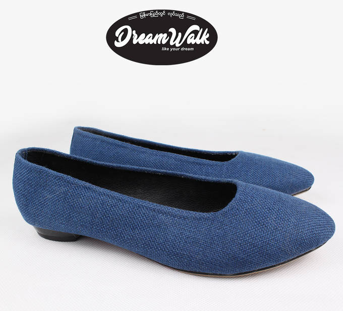 Plain Jean Design Shoe