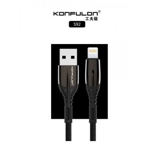 Konfulon Cable S92 (iPhone/2.4A)