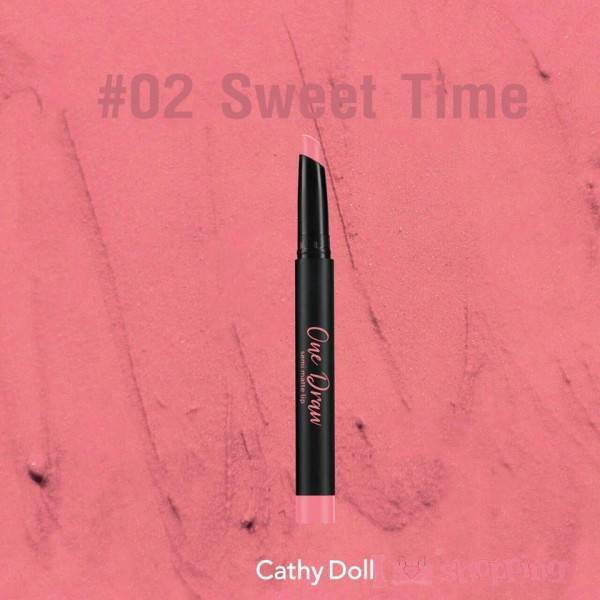 Cathy Doll One DrawSemi Matte Lip