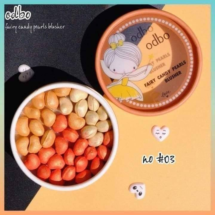 Odbo Fairy Candy Pearls Blusher