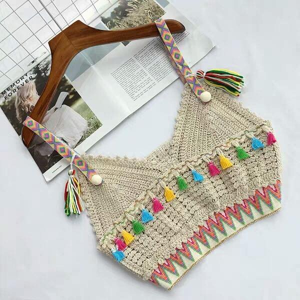 Lady Knitted Vest