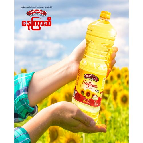 BORGES Sunflower REFINED OIL