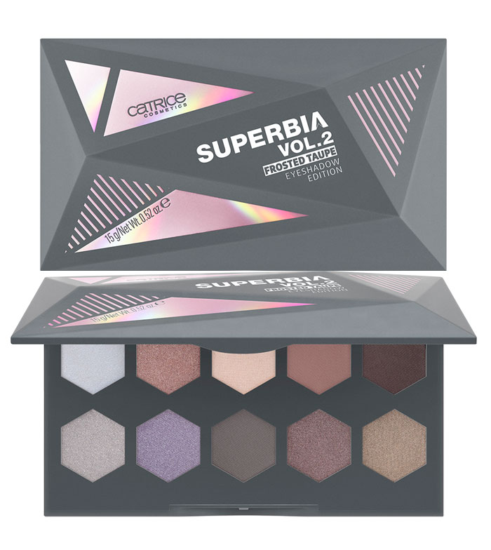Superbia Vol.2 Frosted Taupe Eyeshadow Palette