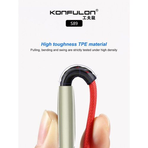 Konfulon Cable S89 (iphone/2.4A)