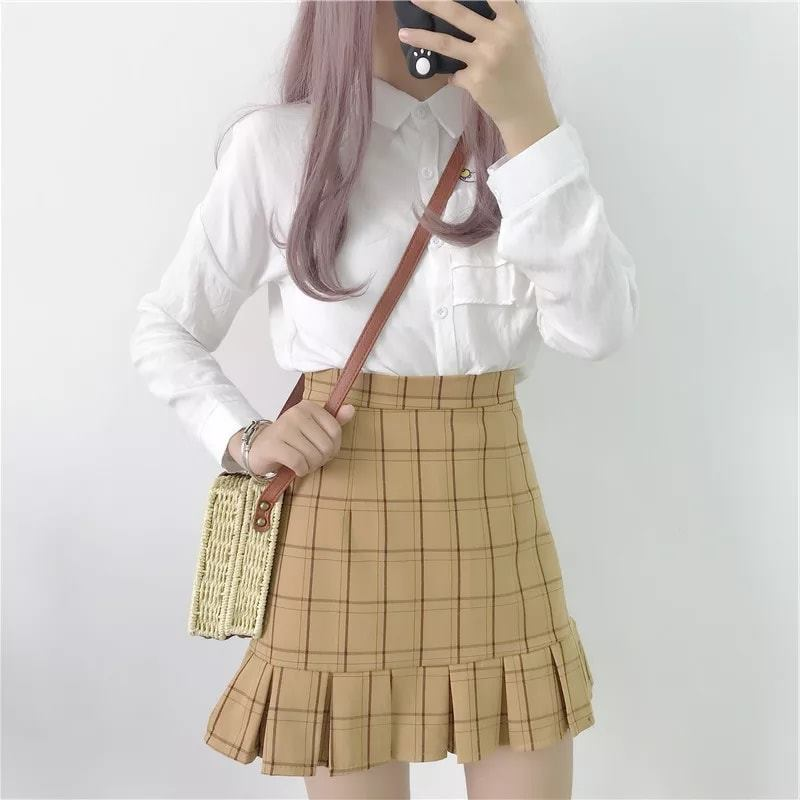 Korea Style Lady Mini Skirt