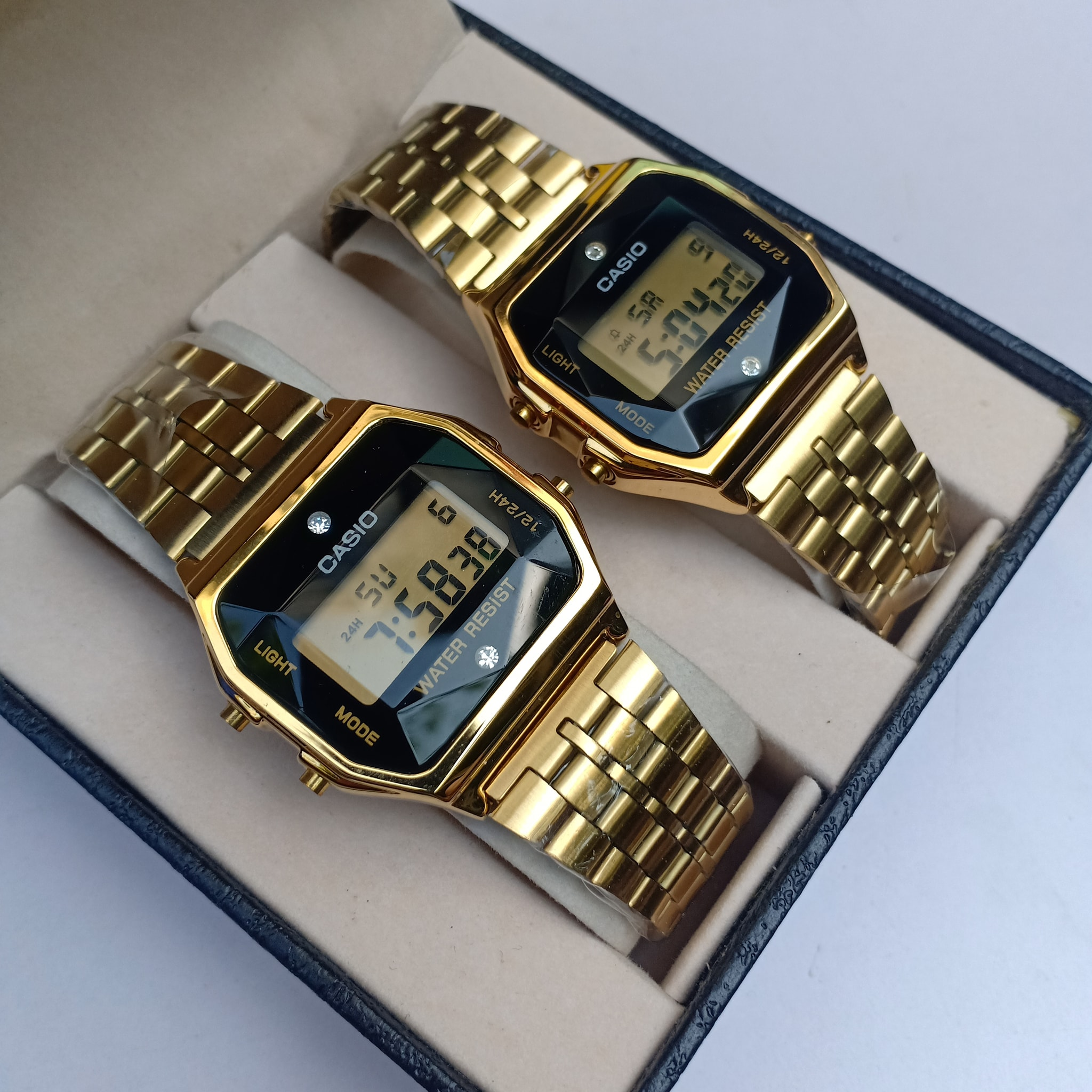 Casio Electro Luminescence Design Couple Watch