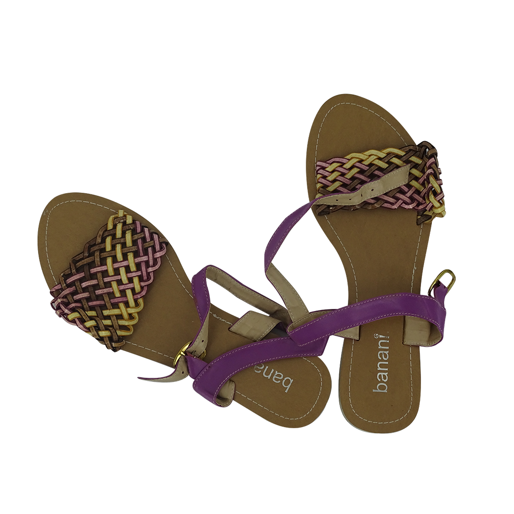 Banani Cross Design Slipper